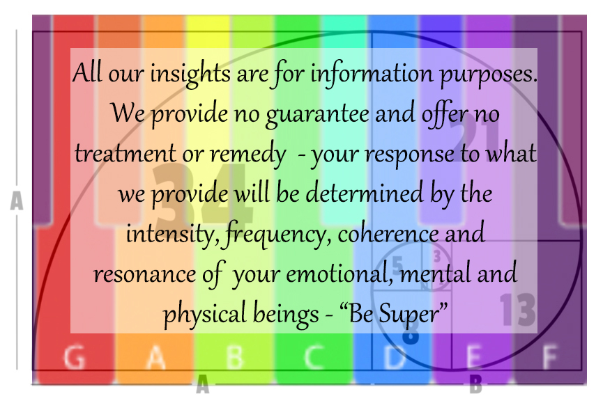 Be Super Disclaimer