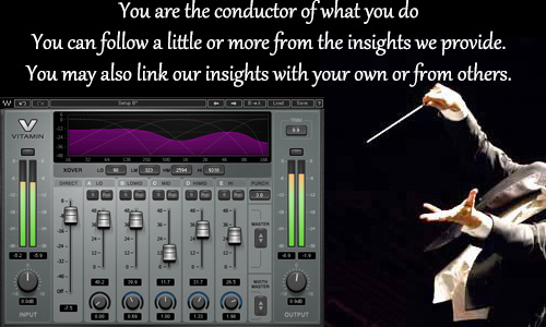 You are the conductor of your own life